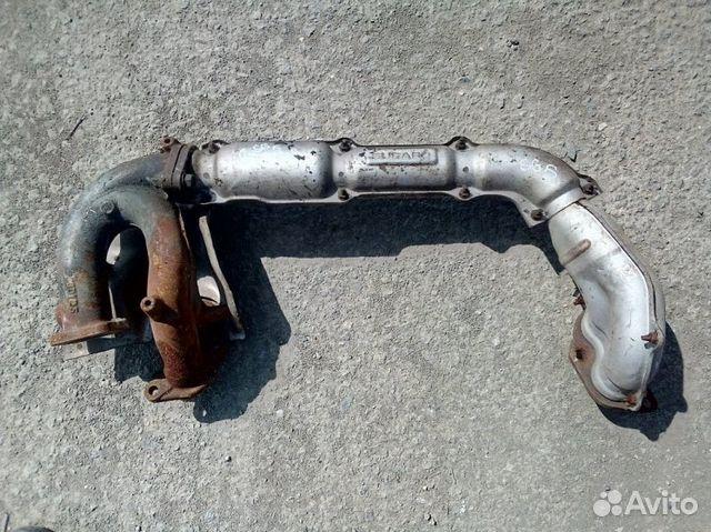 89026196331 Приемная труба глушителя Subaru Forester SG5 EJ205