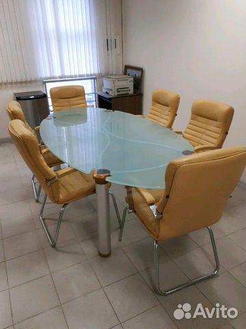 Итальянский переговорный стол с креслами 89038585678 купить 1