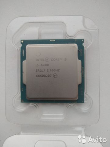 Процессор Intel Core i5-6400 BOX— фотография №1