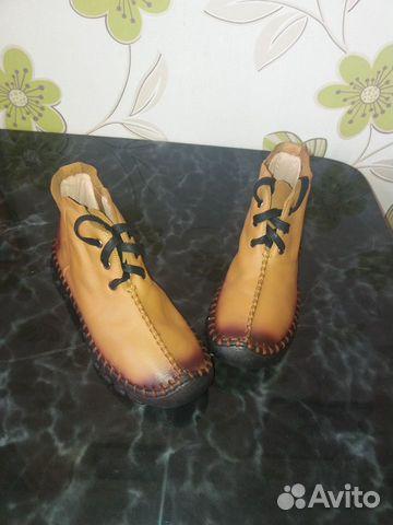 Ботинки женские кожаные  89637385526 купить 1