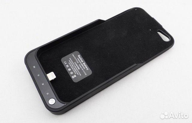 внешний аккумулятор на Iphone 5 5c 5s 2200 Mah купить в
