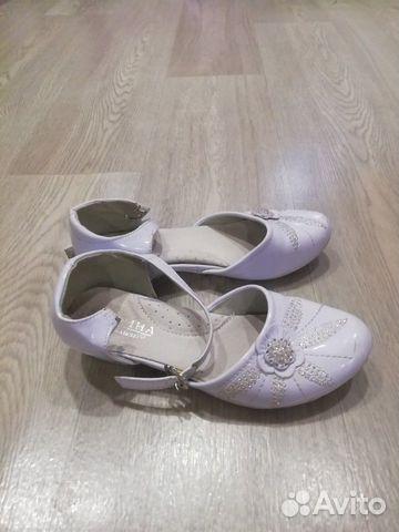 Туфли белые, р. 32 89201047143 купить 2