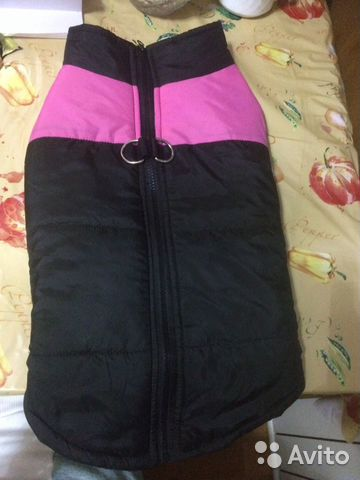 Waterproof vest for dogs. To deliver at home