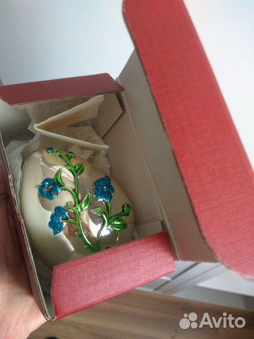 Коллекционное яйцо, Италия, серебрение, Euro F.A.R 89110075006 купить 2