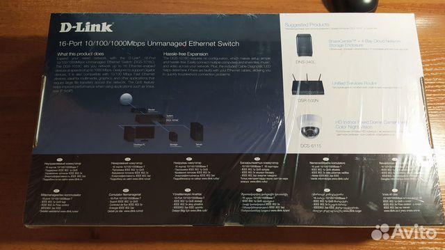Коммутатор D-Link DGS-1016C 89080859809 купить 4