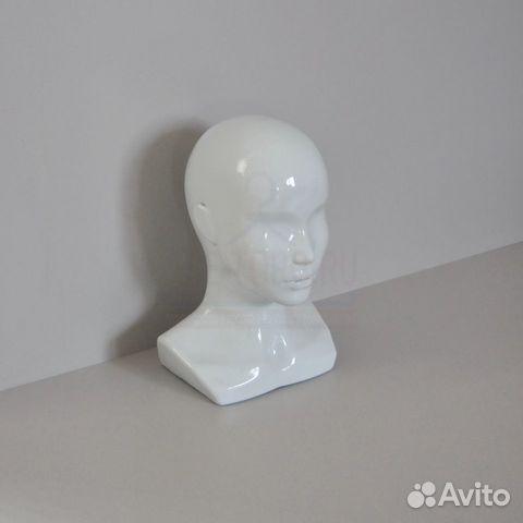 Манекен голова женская белая (Арт: Г-401)