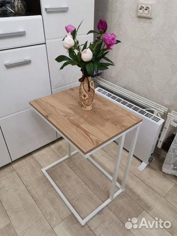 Журнальный столик в стиле лофт купить 4