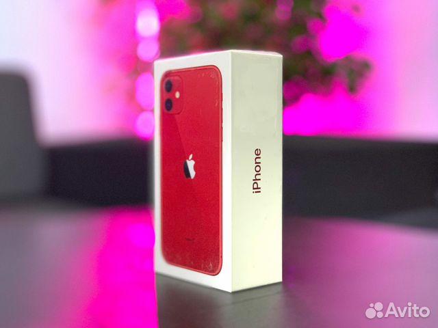 Новый Ростест iPhone 11 64гб Красный  89180229675 купить 4