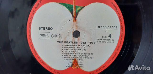 Lp The Beatles EX++/EX++ Ger купить 4