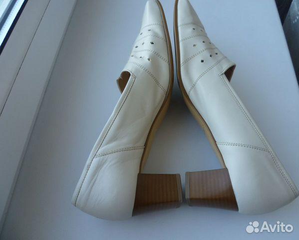 Gabor 41-42 новые женские кожаные туфли  89585853262 купить 7