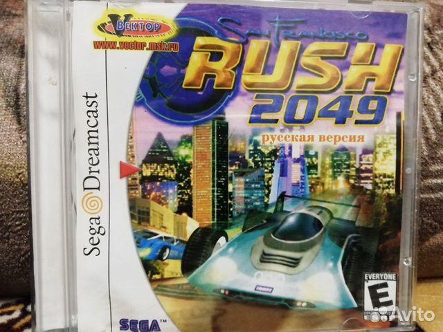San Francisco Rush 2049 Sega dreamcast