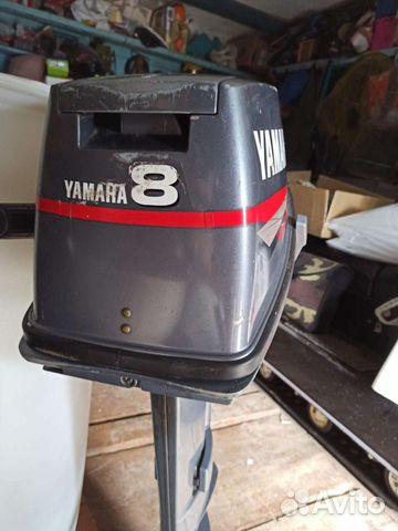 Лодочный мотор Yamaha 8, 2-х такт,2006 год