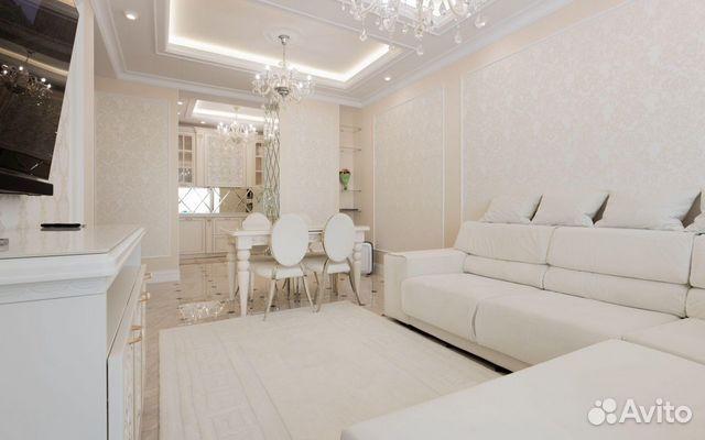 2-к квартира, 105 м², 4/6 эт.