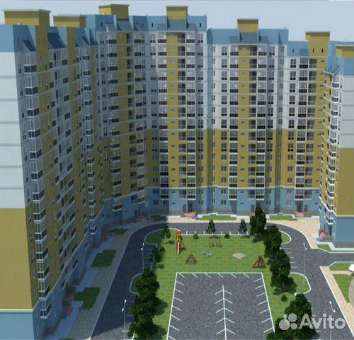 2-к квартира, 64.4 м², 3/12 эт.  89097981825 купить 4