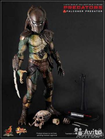 Фигурка Hot Toys Predator Falconer 1/6