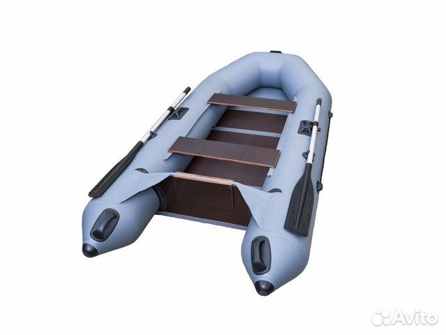 Лодка Вираж 2600 С слань + мотор Сеа Про 2.6