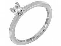 Платиновое кольцо Tiffany с бриллиантом 0,23ct