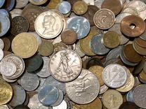 Иностранные монеты поштучно / в розницу
