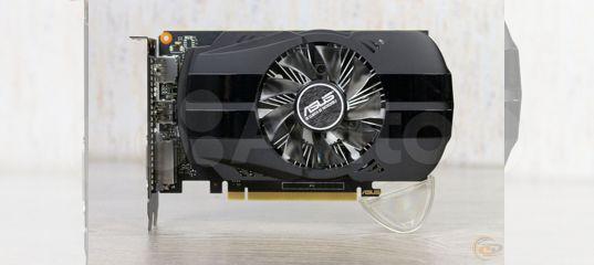 Видеокарта 4Gb GeForce GTX 1050Ti Asus Phoenix купить в Пермском крае с доставкой | Бытовая электроника | Авито
