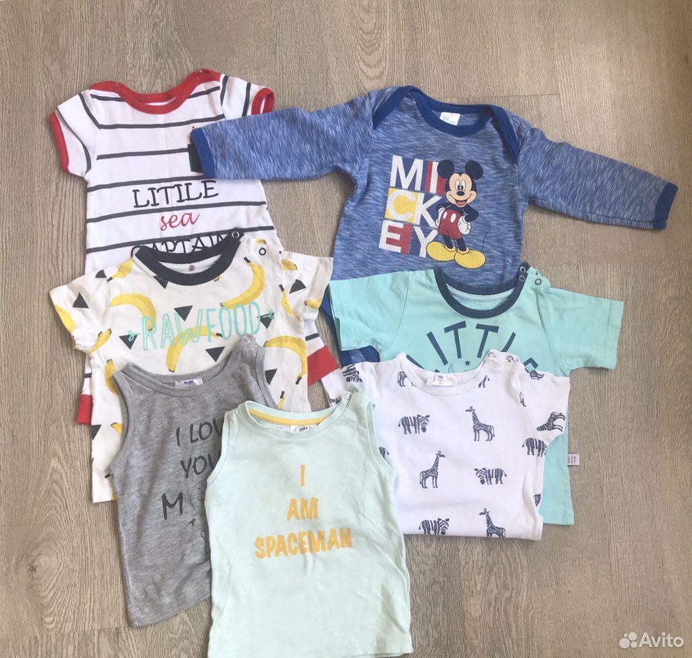 Пакет вещей на мальчика 6-9 м 68 см  89130862840 купить 2