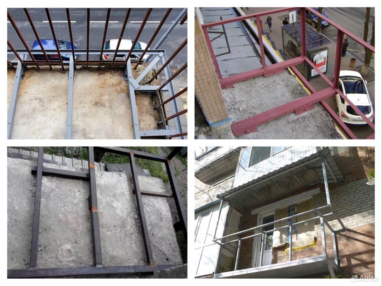 Ремонт входных групп, балконных плит, козырьков  89092920699 купить 8