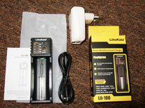 Зарядное устройство LiitoKala lii-100 18650 AAA AA
