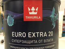 Краска Tikkurila для ванной комнаты, кухни