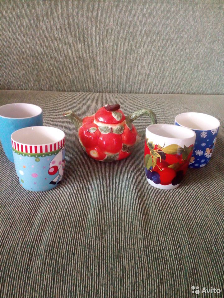 Посуда, чайник,кружки 89539582407 купить 1