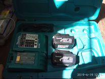 Зарядное устройство и аккумуляторы mackita