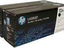 Картридж лазерный HP Q2612A/12A оригинал