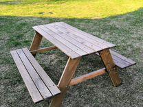 Садовый столик для детей Икеа
