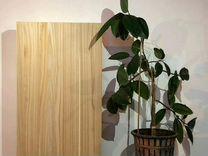 Дубовый цельноламельный мебельный щит