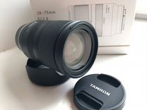 Tamron 28-75mm 2.8 Di III RXD Sony E (новый)