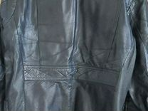 Пиджак мужской кожа натуральная
