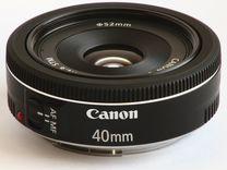 Canon 40mm 2.8 STM