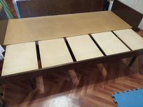 Кровать 1,5-2х спальная (раздвижная) с ящиком