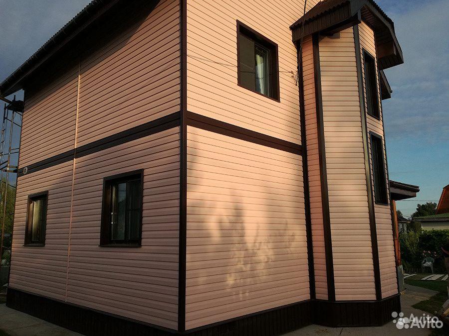 Отделка фасадов (сайдинг, вагонка, блок-хаус и др)  89509169461 купить 4
