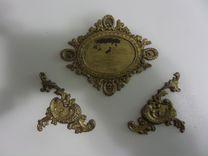 Латунные накладки на старинную мебель