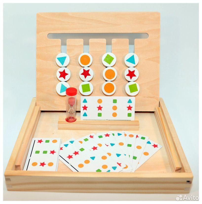 Логическая игра «4 цвета и 4 фигуры»  89603218602 купить 2