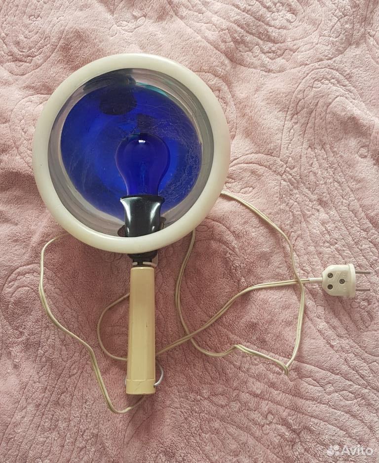 Синяя лампа (рефлектор Минина)  89140288073 купить 1