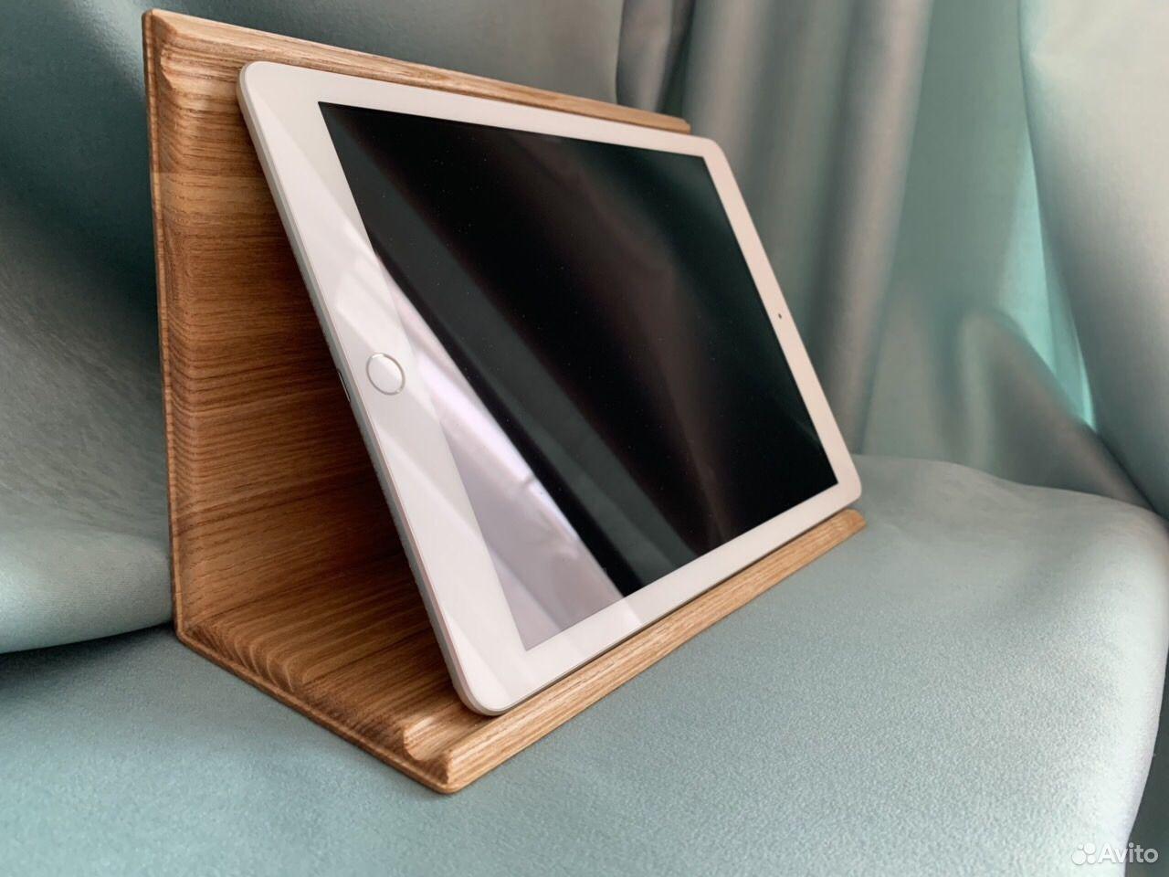Подставка для планшета. Из дерева Ясень  89061500826 купить 2