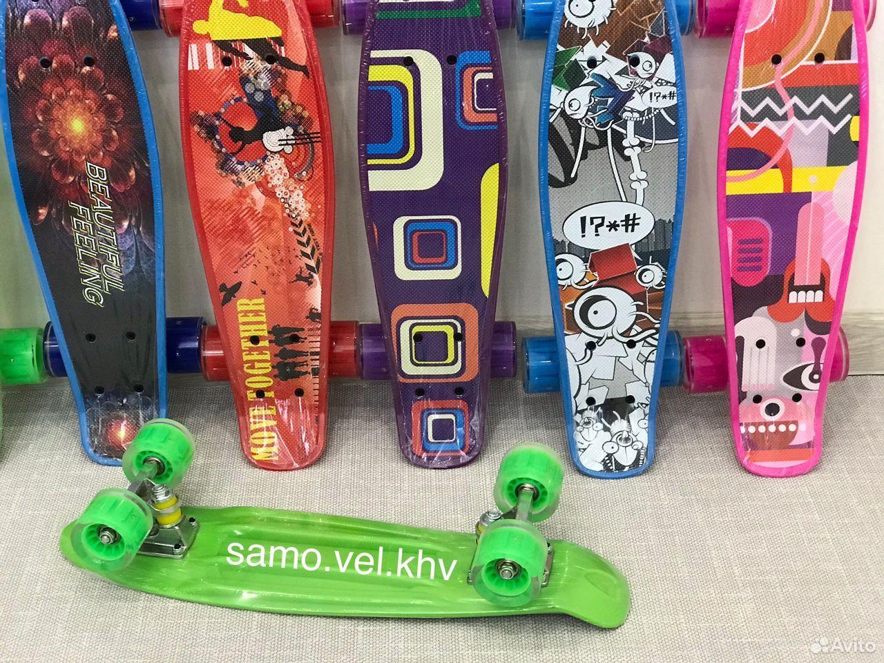 Скейтборд пенниборд новый  89242131563 купить 2