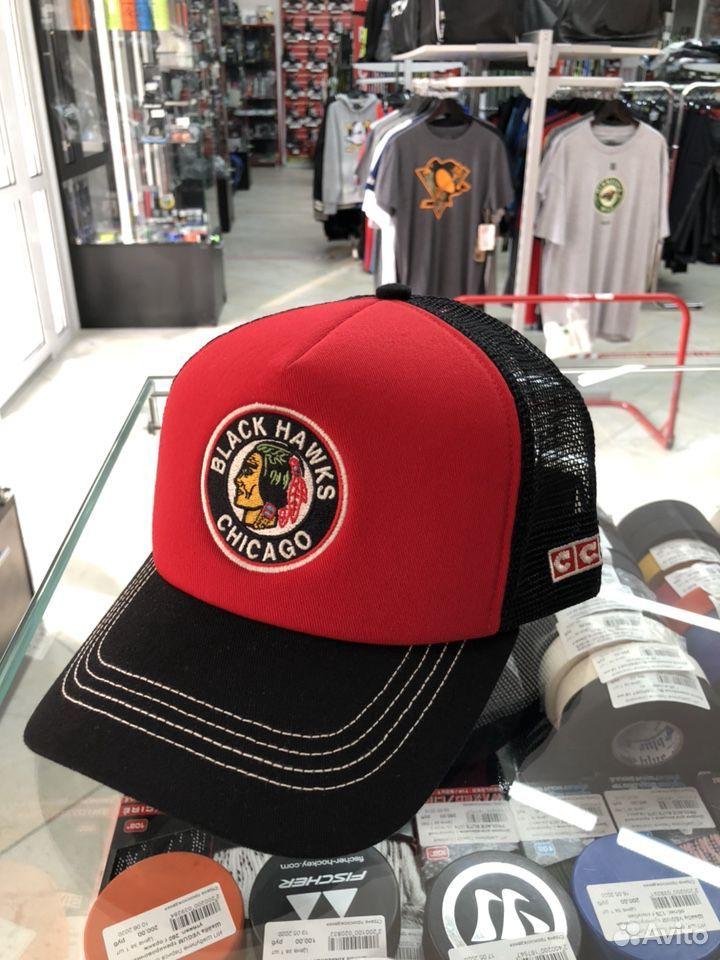 Бейсболка CCM vintage клуба NHL chicago  89136418851 купить 1