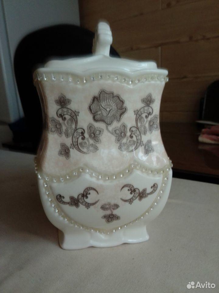 Керамическая чайница teabreeze  89880055217 купить 1