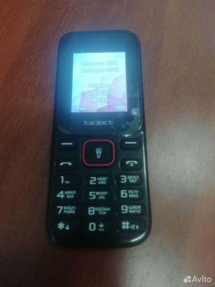 Телефон teXet tm128