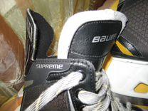 Коньки фирмы bauer supreme 37,5 р