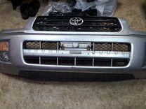 Бампер передний Toyota RAV 4 в полном сборе