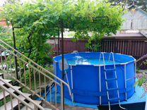 Каркассный бассейн б/у — Спорт и отдых в Геленджике