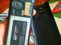 Мобильник Micromax X649 разбитый