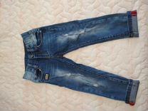 Стильные джинсы на рост 104-110